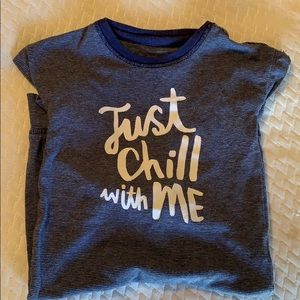 """Cat & Jack """"Just Chill with Me"""" Bodysuit"""